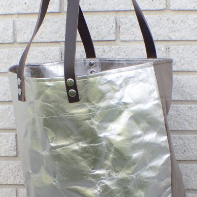 Washable paper and canvas bag